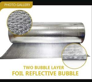 Double Bubble Insulation Foil Radiant Barrier Reflective 40 X 120ft 400 Sqft