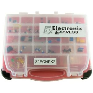 Electronics Components Hobby Pack V2 90 Components For Electrical Engineering