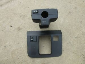 John Deere Dash Column Shift Lever Plastic Panel And Switches 310 410 Backhoe