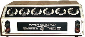 Clarostat 240c Decade Power Resistor Fully Tested Contact Resistance
