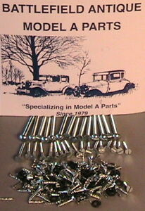 1930 1931 Model A Ford Ratrod Streetrod Coupe Body Wood Mounting Hardware Set