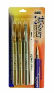 New Uchida 920 4b Marvy Ball Point Gel Excel Reminisce Opaque Pen Set Ships Free