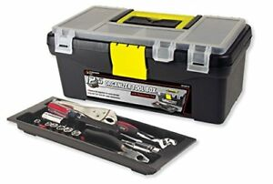New Performance Tool W54012 Plastic Tool Box With Organizer 12 5 Free Shipping