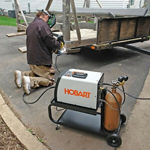 Hobart Handler 500554 190 230v Mig Welder Excellent Welding Machine For Alum New