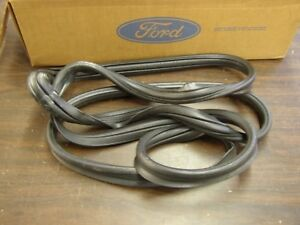 Nos Oem Ford 1957 1960 Truck Pickup Back Window Gasket Rubber 1958 1959 Glass