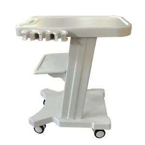 Trolley Cart For Ultrasound Imaging Scanner Mobile With Two Holes Moving Tool