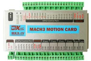 Cnc Mach3 Usb 3 Axis Motion Control Card Breakout Board 2mhz Support Windows 7