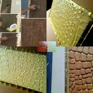 Leather Polyurethane Texture Stamp Mat Skin Concrete Cement Stamping