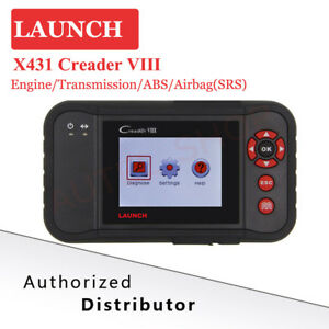 Launch X431 Creader Viii Obd2 Automative Diagnostic Code Scanner Tool As Crp129