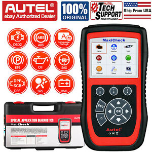 Autel Maxicheck Pro Obd2 Code Scanner Tool Oil Reset Scan Airbag Epb Abs Srs Sas