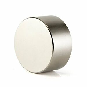 Neodymium Magnet round 40x20mm 1 57 x0 79 Strong Rare Earth Magnets Discs By