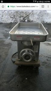 Biro Restaurant Commercial Manual Feed Meat Grinder 6642