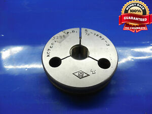 9 16 18 Nf 3 Thread Ring Gage 5625 No Go Only P d 5230 Inspection Tooling