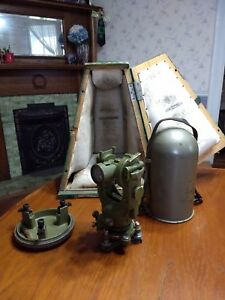 Wild Heerbrugg Nt1 Theodolite Early 1940 s