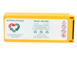 Physio Control Medtronic Lifepak 500 Replacement Aed Battery lp 500