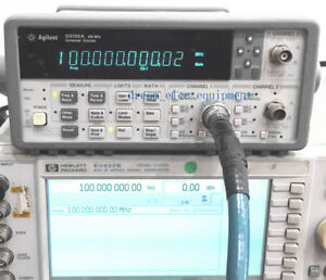 Hp agilent 53132a Opt 010 030 Universal Frequency Counter