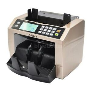 Portable Bill Counter Money Counting Machine Cash Currency Banknote Uv Mg X5c2
