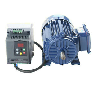 Ac220v 1 5kw 300 940rpm Low Rpm Motor Variable Speed Ac Motor Vfd Inverter