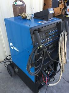 Miller Syncrowave 250 Dx Tig Welder with 3x Cooler And Running Gear