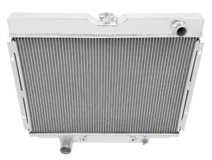 1967 1968 1969 Ford Ranchero Cc379 Champion Three Row All Aluminum Radiator