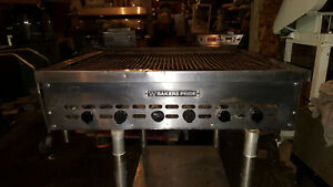 Bakers Pride Gas Countertop Commercial Charbroil Flame Grill Char Broiler Unit
