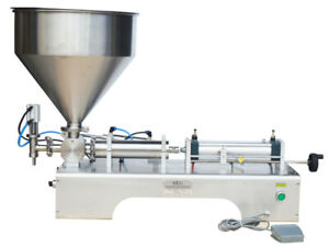 110v Filling Machine 5 100ml For Paste And Liquid With Single Head For Cream