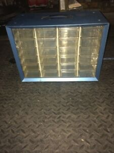 Akro Mils 24 Drawer Metal Storage