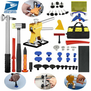 Paintless Repair Pdr Tools Dent Puller Lifter Auto Car Body Hail Removal Bag Kit
