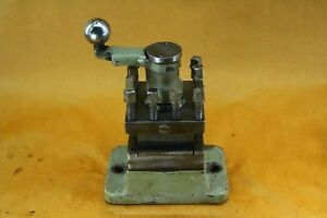 Warner And Swasey Flat Seat Square Turret No 4 215 16 4 Way Tool Post