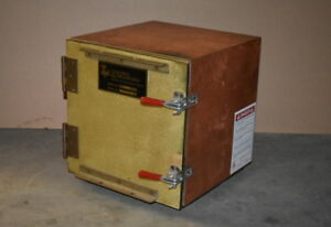 Faraday Chamber Rf emi Enclosure Copper 12 x12 x12 T t Lindgren