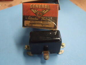 Nors 40s 50s 6 Volt Headlight Overdrive Transmission Relay general Auto Parts