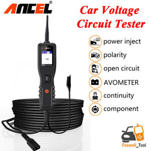 12v Car Circuit Tester Car Electrical Test Tool Avometer Power Probe Ancel Pb100