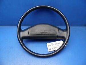 88 92 Toyota Corolla Oem Steering Wheel Stock Factory Blue