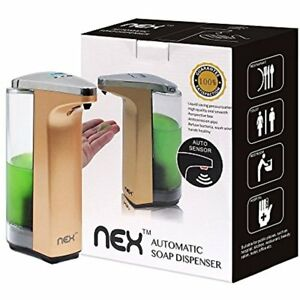 Auto Soap Dispenser Touchless Stainless Steel Container Ir Infrared Motion Hand