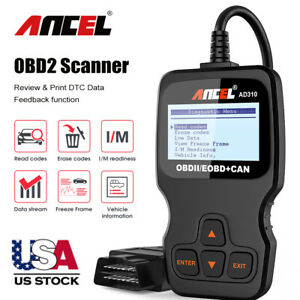 Obd2 Scanner Check Engine Fault Code Reader Can Auto Diagnostic Scan Tool Vc309