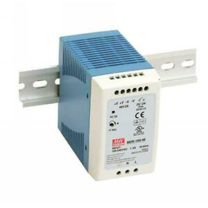 Mdr 100 24 Mean Well Industrial Din Rail Power Supply 24v 4a 100w
