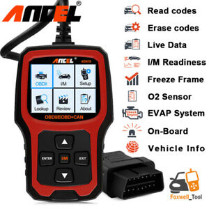 Automotive Obdii Scanner Code Reader Check Car Engine Fault Code Diagnostic Tool