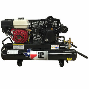 Honda Powered Air Compressor 10 Gallon 6 5hp 14cfm Wheel Barrow Air Compressor
