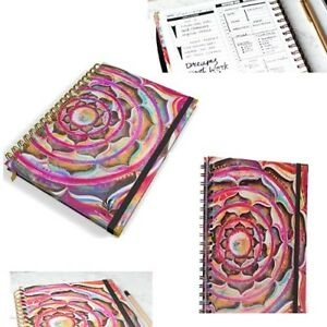 Daily Planner Organizer Calendar Daily Weekly Hourly Monthly Agenda Undated