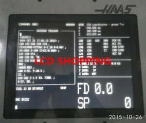 Replacement 12 1 Inch Lcd Screen For Haas 28hm nm4 Vf2 Vf3 9 Pin Crt Monitor