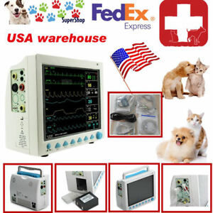 Veterinary Monitor Contec cat Dog Animals Use cms8000 vet Ecg Resp Spo2 Pr