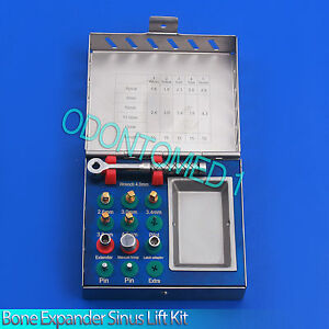 Dental Implant Bone Expander compression Kit Surgical Sinus Lift Instruments New
