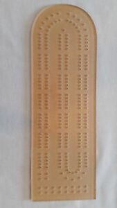 Cribbage Board Template Track Style Woodworking Kit 1 4 Acrylic