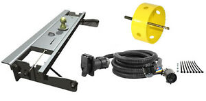 B W 2 5 16 Gooseneck Hitch W Hole Saw Curt Wiring Kit For Silverado Sierra