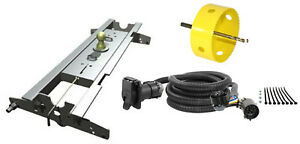B W 2 5 16 Gooseneck Hitch W Hole Saw Curt Wiring Kit For Ford F 150 F250 Ld