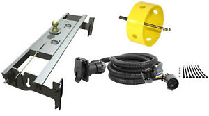 B W 2 5 16 Gooseneck Hitch W Hole Saw Curt Wiring Kit For Ram 2500 3500