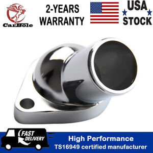 15 Degree Water Neck For Chrome Chevy Thermostat Housing Sb Bb Small Big Block