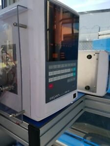 Used Miyachi Seiwa Precision Transistor Spot Welder Sfw 412 With Feeder