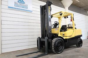 2007 Hyster H110ft 11 000 Solid Pneumatic Tire Forklift S s