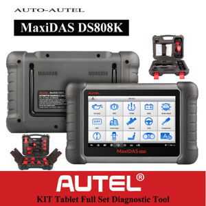 Autel Maxidas Ds808k Obdii Diagnostic Scanner Tool Code Reader Ecu Key Coding
